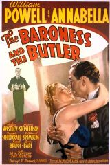 The Baroness and the Butler 1938 DVD - William Powell / Helen Westley